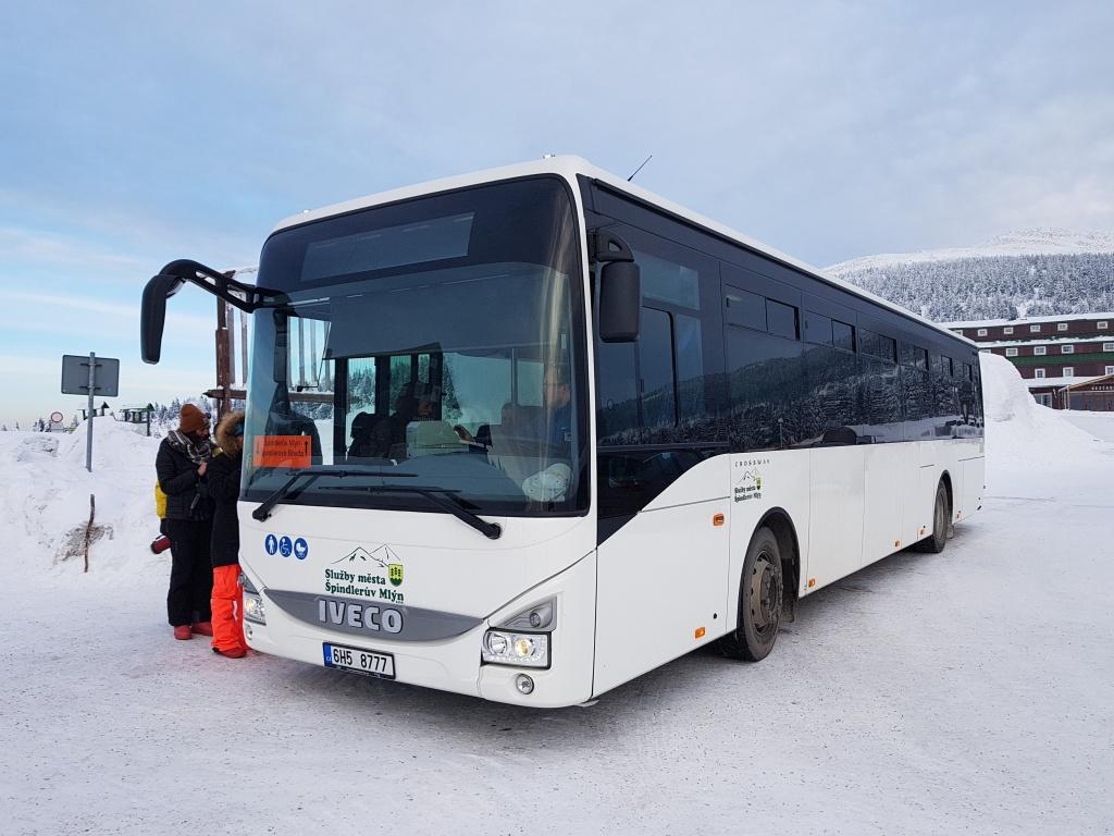 Bus na Špindlerovku